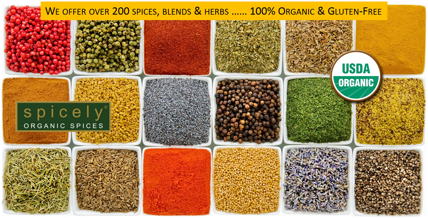 We offer over 200 spices, blends & herbs