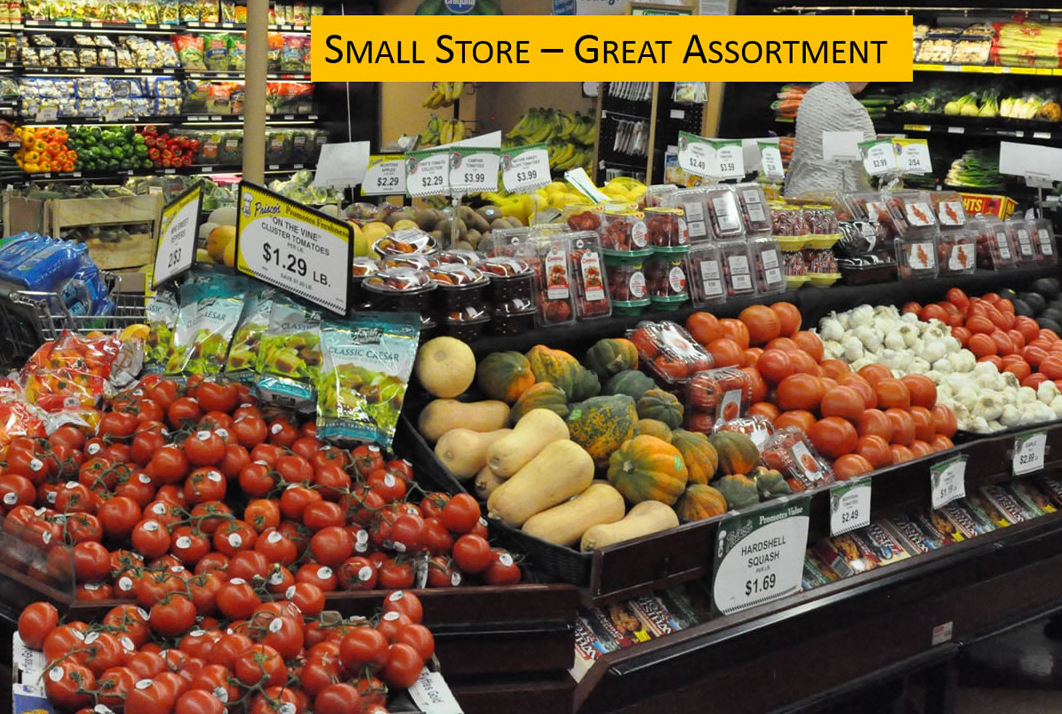 Small Store - Great Assortment